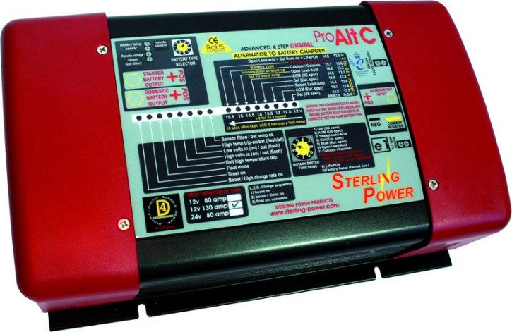 Sterling Power A2B-Lader 12V 80A