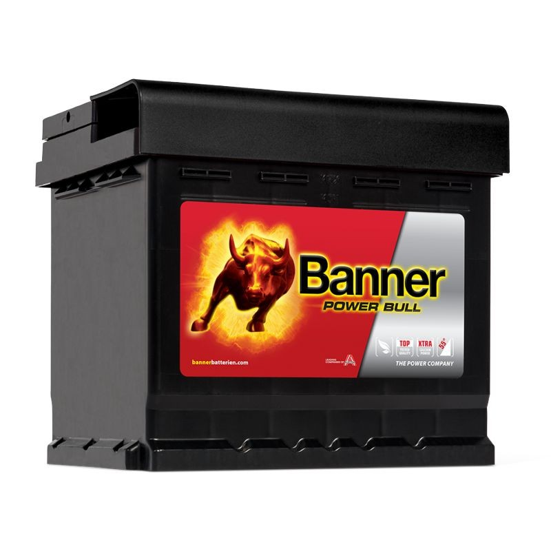 banner power bull p50 03 starterbatterie 12v 50ah 450a en. Black Bedroom Furniture Sets. Home Design Ideas