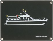 Positionslaternen Überwachung Motoryacht